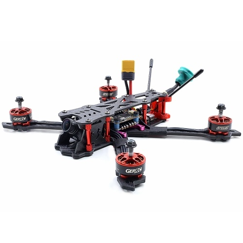 GEPRC Mark2 BNF w/ Frsky R-XSR Receiver 230mm 2-5S 40A BLHeli_s 600TVL Full 3K Carbon Fiber FPV Racing Drone