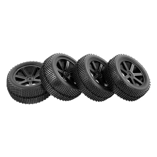 4pcs Front and Rear Tire with Wheel Rim
