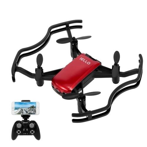 Florld IELLO F21W 480P Mini Wifi FPV Höhe halten Selfie Drone