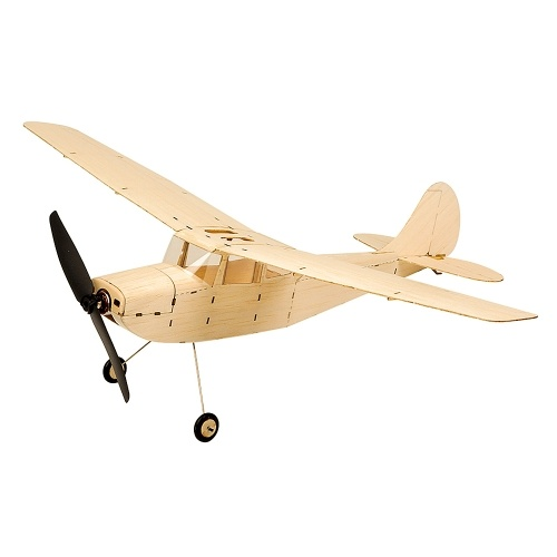 DW Hobby K1201 Mini Cessna L-19 Balsa Wood 445mm Wingspan Biplane RC Самолет Игрушка KIT Самолет для DIY