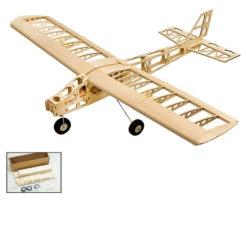 DW Hobby T2501 EP Cloud Dancer Training Plane Balsa Wood 1.3m Apertura alare Biplano RC Airplane Toy KIT Aerei per DIY