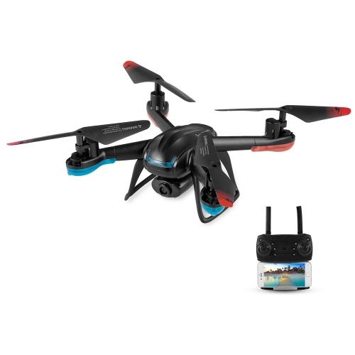 GLOBAL DRONE GW007-3 480P Wifi FPV Selfie Smart Drone Höhe halten einen Schlüssel Return RC Training Quadcopter