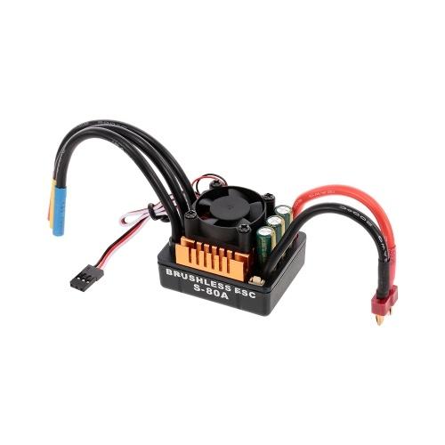 HOBBYFANS 3665 3100KV 4Pブラシレスモーター80A 2-4s ESCプログラミングカード