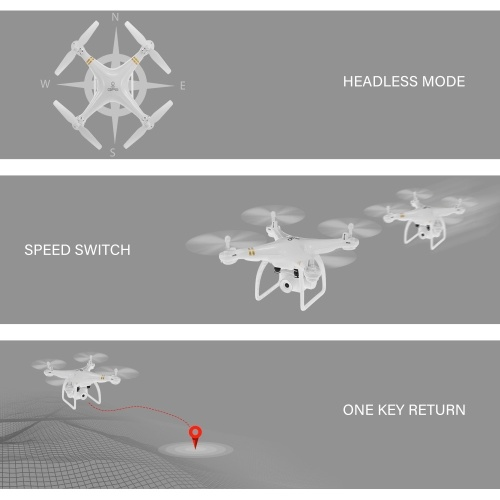 HY-83 GPS Drone with Camera 720P Altitude Hold Follow Me Orbiting Fly Quadcopter
