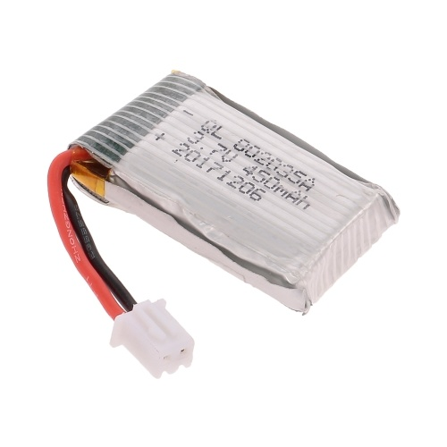 3.7V 450mAh Lipo Batterie pour Z51 RC Main Avion Mousse Lancer Drone Planeur DIY