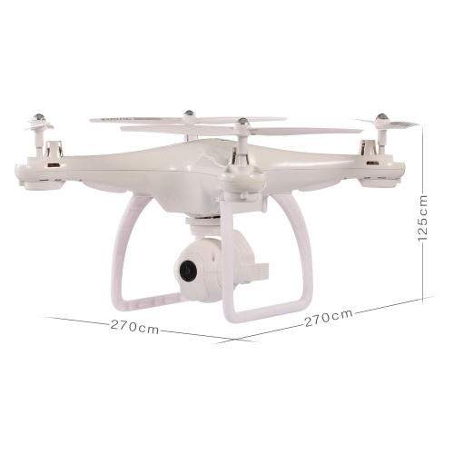 2.4G Wifi GPS RC Drone with 720P Camera FPV RC Selfie Drone