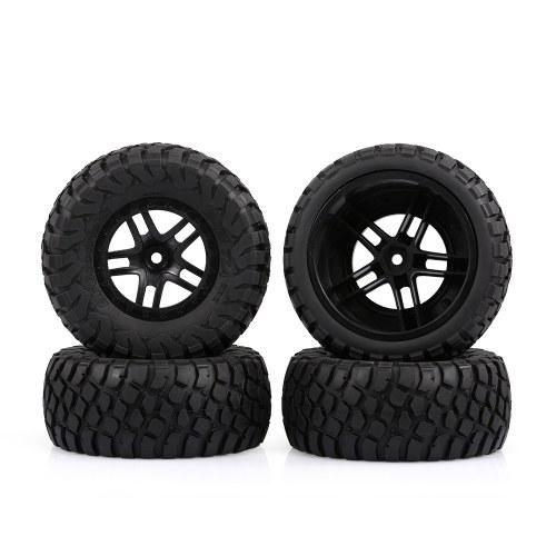 Austar 110mm 1/10 Scale Tires Llantas de goma Llanta de rueda