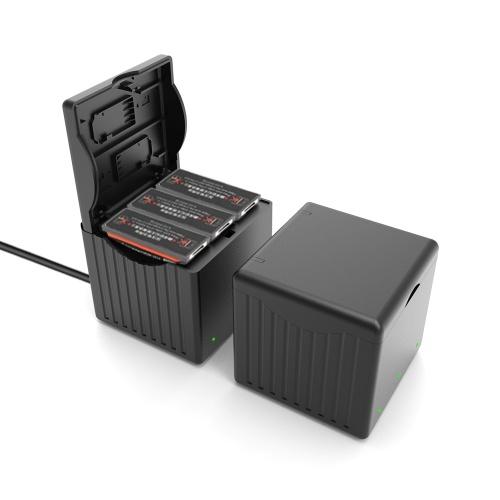 Hub caricabatteria 3 IN 1 per DJI OSMO Action Camera con interfaccia TYPE-C