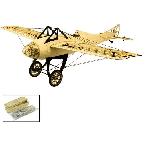 S2201 Balsaholz RC Flugzeug 1000mm Elektrisch Angetriebenes DM Deperdussin Monocoque Zerlegtes RC Flugzeug (KIT Version)