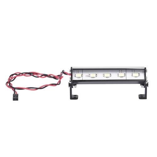 70mm phares de toit RC dôme tout-terrain 5 lumières LED pour Traxxas Rustler Bandit E-Revo Nitro Rustler Jato Redcat Backdraft 3.5 ECX 1/18 Roost RC Buggy