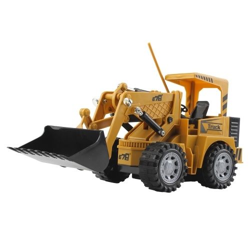 1:24 5CH Remote Control Electric Shovel Loader Construction Car Toy Image