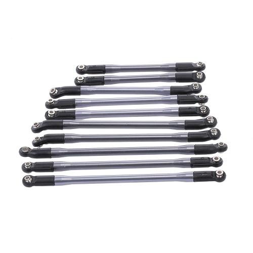10pcs Metal Link W/ Plastic Rod Ends