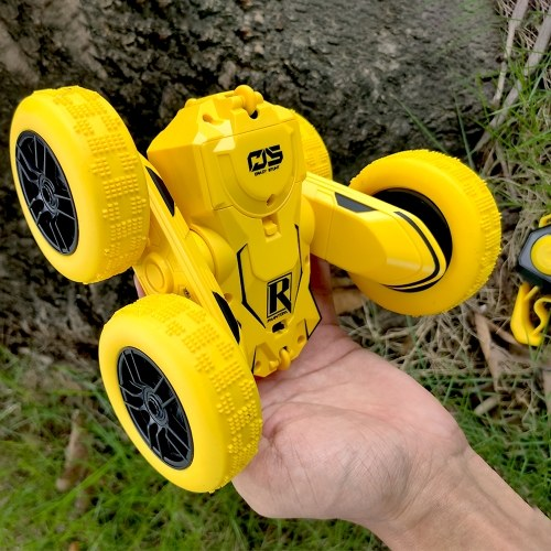 1/28 4WD Remote Control RC Car Remote Control Stunt Car Double Sided Rotating Vehicles 360° Flips