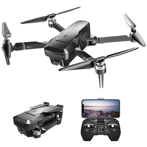 VISUO ZEN K1 5G WIFI FPVGPS Brushless Drone 4K With Dual Camera(1 Battery)