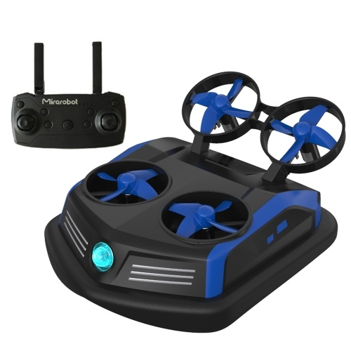 Mirarobot Domain S200 3-in-1 Sea-Land-Air Mode Switchable Mini Drone Remote Control Boats Car(LED Version)
