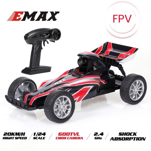 EMAX Interceptor  2.4G 1/24 FPV Racing RC Car with 600TVL Camera Race Car