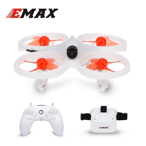 EMAX EZ Pilot Drone FPV Racing Drone with 600TVL Camera Speed 3 Levels Gyroscope Auto-leveling Smart Height Assist with FPV Glasses