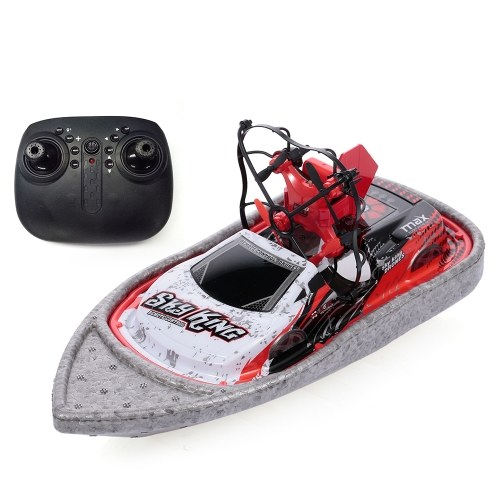 3 in 1 Boot Drohne Auto Sea Air Land Modus Quadcopter (1 Batterie)