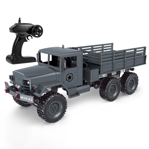 MN-77 1/16 Military Truck 2.4G 6WD Off-road Truck RC Car High Speed Electric Vehicle Led Light RC Truck-RTR