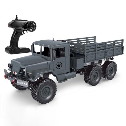MN-77 1/16 camion militare 2.4G 6WD fuoristrada RC auto veicolo elettrico ad alta velocità a led RC Truck-RTR