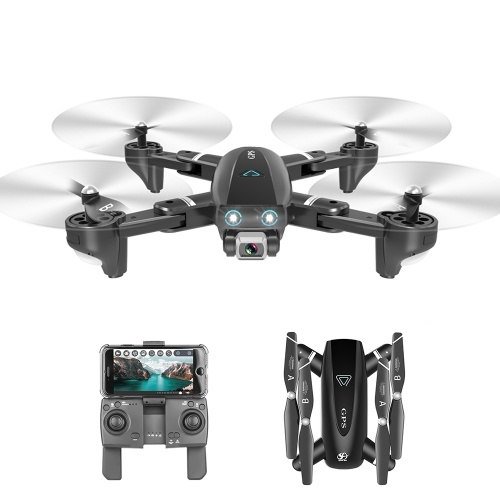 CSJ S167 GPS 2.4G WIFI FPV Drone with 4K Camera 3 Batteries