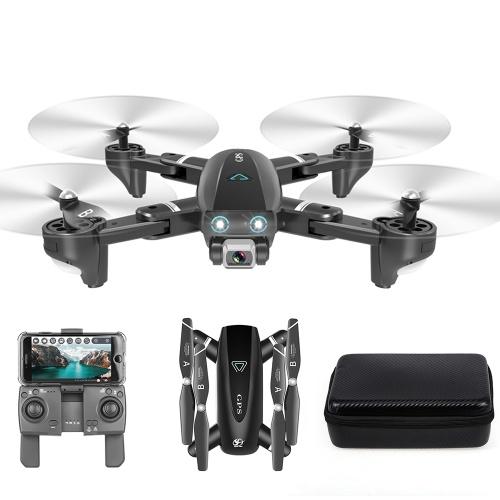 CSJ S167 GPS 2.4G WIFI FPV Drone with 4K Camera 3 Batteries Handbag