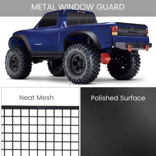 for 1/10 Traxxas TRX4 Crawler Window Protective Net Metal Window Guard Mesh for Traxxas 82024-4 TRX-4 RC Car