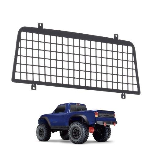 per 1/10 Traxxas TRX4 Rete protettiva per finestre Crawler Rete di protezione per finestre in metallo per Traxxas 82024-4 TRX-4 RC Car