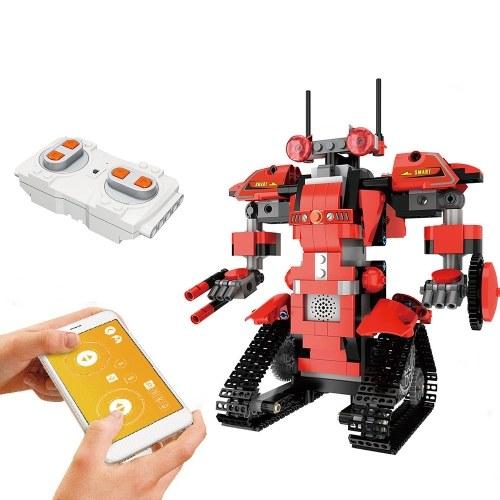 392PCS 2.4GHz Robot de control remoto RC Building Block Robot App Controlado RC Robot educativo
