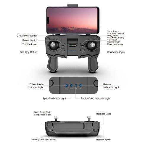 S20 GPS 4K Camera RC Drone APP Follow Mode Foldable Quadcopter Drone