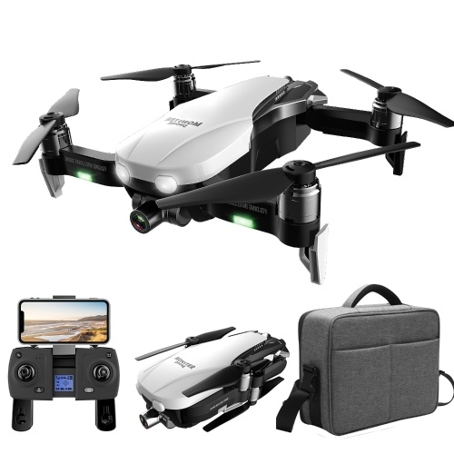F8 GPS 1080P RC Drone Smart Follow Optical Flow Fixed Point Surround Brushless Quadcopter with Bag(Flight time: 23-27min)