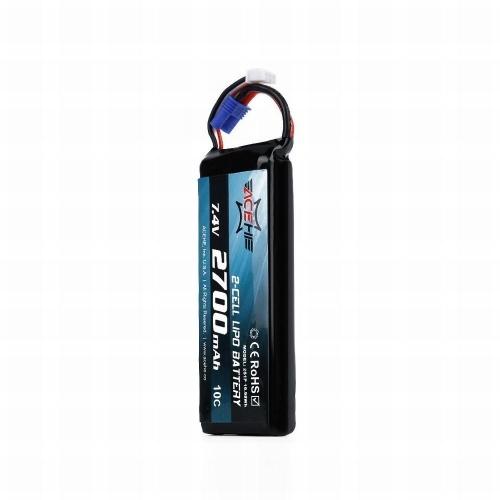 Batteria Lipo 7.4V 2700mAh 10C per Hubsan H501S H501A H501C X4 RC Quadcopter