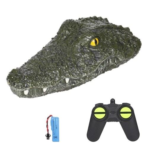JJRC RC Bootssimulation Krokodil-Elektro-Rennboot für Pools 2.4G Remote 2CH Control Parodie Spielzeug