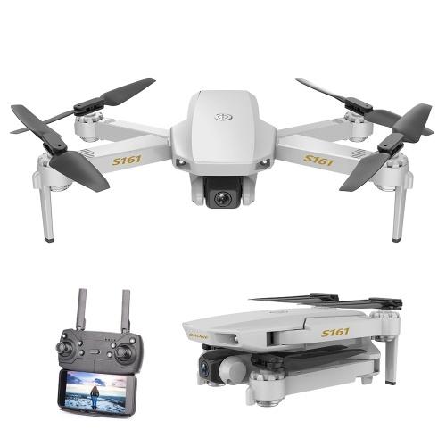 CSJ S161 Mini Pro Drone 4K Caméra Positionnement de Flux Optique Quadricoptère RC