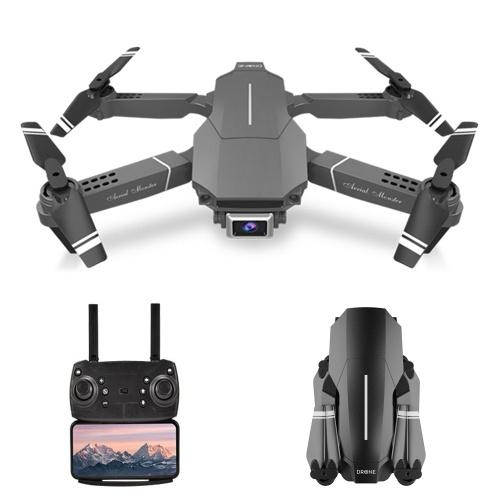 E98 WiFi FPV 4K Drohne RC Quadcopter Headless-Modus Höhe Halten Geste Fototrack Flug 3D Flip Folding Drohne