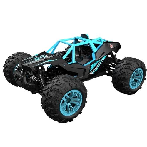 2.4Ghz 1:14 36KM / H高速オフロードRCトラック合金シェル4WD車レーシングクライミングRCカーギフト子供用大人