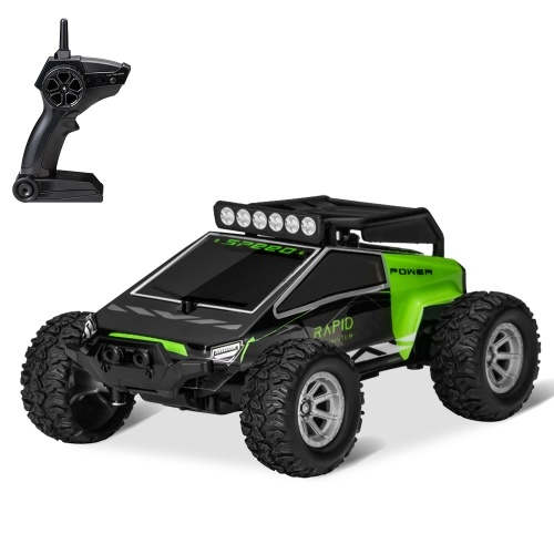 S638 2.4GHz 1:32 RC Car With LED Light 20KM/H High Speed Racing Car Image