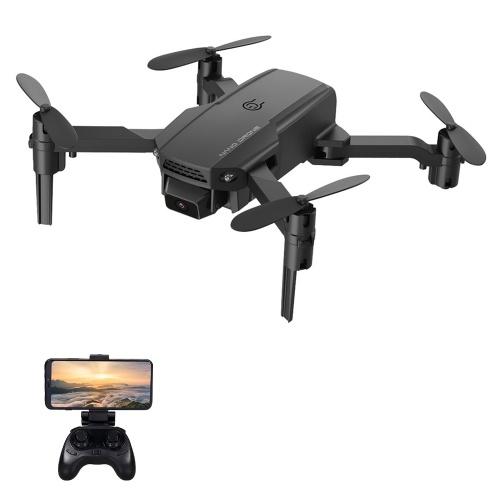 KF611 4K Cámara Mini Drone Plegable Quadcopter Juguete de interior con función Trayectoria Vuelo Modo sin cabeza Vuelo 3D Auto Hover