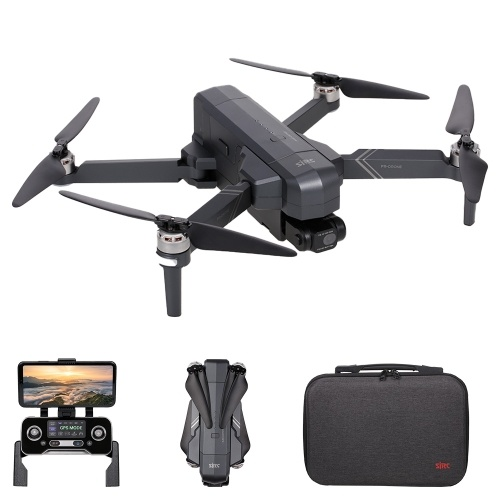 SJRC F11 PRO 5G Wifi FPV GPS RC 4K Kamera 2-Achsen-Gimbal mit Aufbewahrungstasche 26 Minuten Flugzeit 1500 m Kontrollentfernung