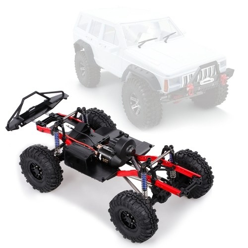 AUSTAR A2X-313C RC Car Chassis with Tires 275mm/10.8inch Wheelbase Chassis Frame 540 35T Motor for 1/10 RC Crawler Car Axial  SCX10 II RC Car