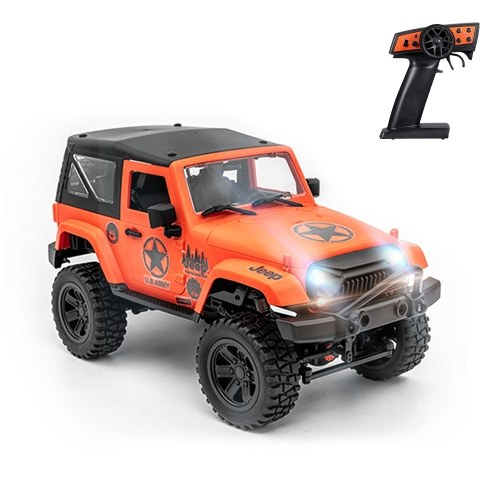 F1 1/14 Scale Remote Control Truck 4WD 2.4GHz Off Road RC Trucks 30km/h High Speed Vehicle Crawler with LED Light RC Racing Car