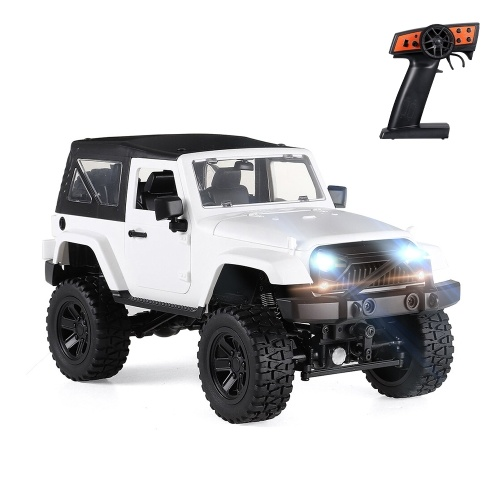 F1 1/14 Scale Remote Control Truck 4WD 2.4GHz Off Road RC Trucks 30km/h High Speed Vehicle Crawler with LED Light RC Racing Car Image