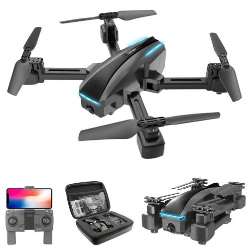 CSJ S177 WIFI FPV 4K Camera RC Drone Dual Camera Gesture Photo/video Optical Flow Positioning Headless Mode Quadcopter