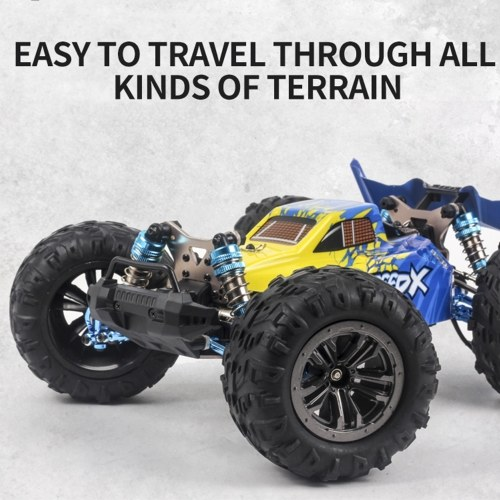 XLF F17 70km/h High Speed Racing Car 1/14 2.4GHz Brushless 4WD RC Car Off-Road Drift Car RTR with Metal Chassis