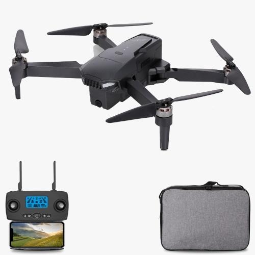 KF107 5G Wifi GPS 4K Camera RC Drone Brushless Drone Posizionamento del flusso ottico RC Quadcopter con custodia