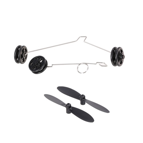 2pcs Propeller and 2PCS Landing Gear for Wltoys XK A200 F-16B RC Airplane