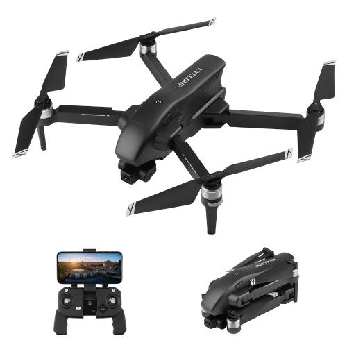 Drone RC Wltoys Q868 5G Wifi FPV GPS 4K com 2 eixos Gimbal Brushless Motor Quadcopter