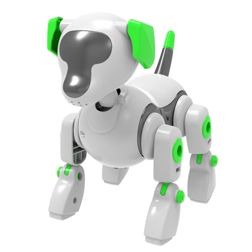 Robot Dog Toy DIY Toy Interactive Toy Intelligent Educational Toys Suitable for Boys Girls Gift