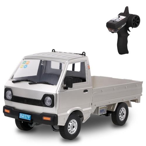 WPL D12 RC Truck 2.4 Ghz RC Auto 1/10 RC Giocattolo RTR Auto regalo per adulti Bambini Ragazzi Motore centrale Trazione posteriore