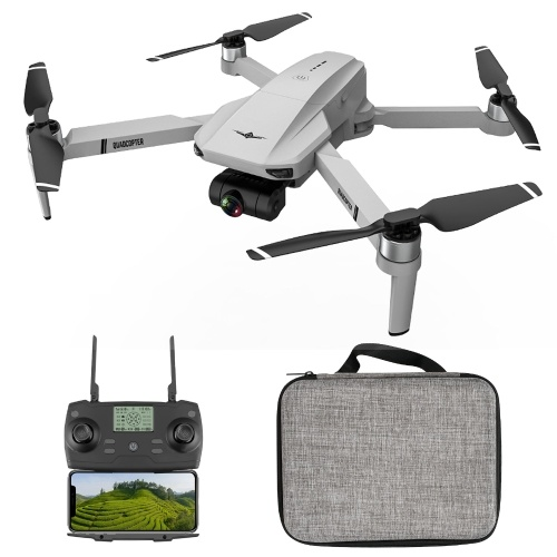 KFPLAN KF102 5G Wifi FPV GPS 4K caméra Drone RC cardan 2 axes quadrirotor de positionnement de flux optique avec sac de rangement